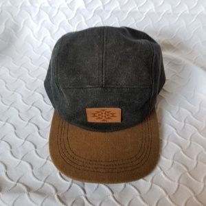 Mango Men's Grey and Tan Hat OS
